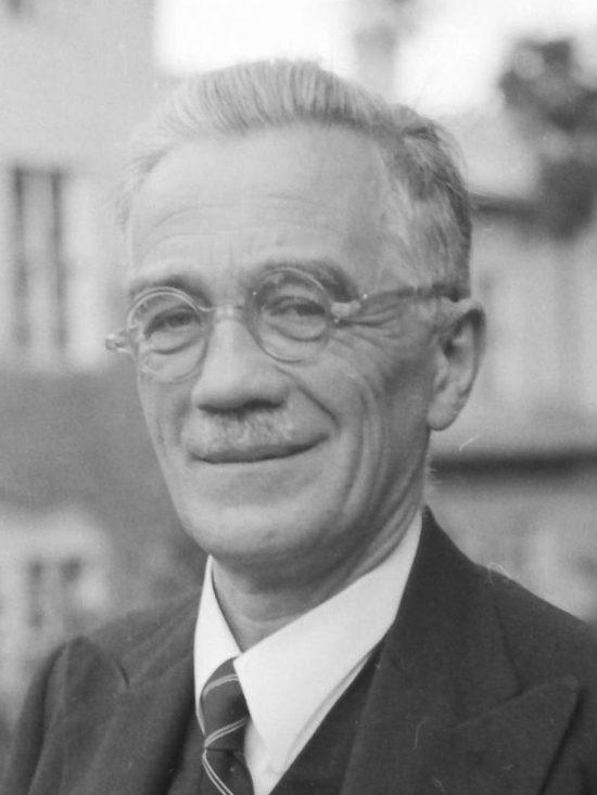 Figura 2. El Dr. Friedrich Zweigelt. Archivo de la Escuela Superior de Enología y Pomología de Klosterneuburg.